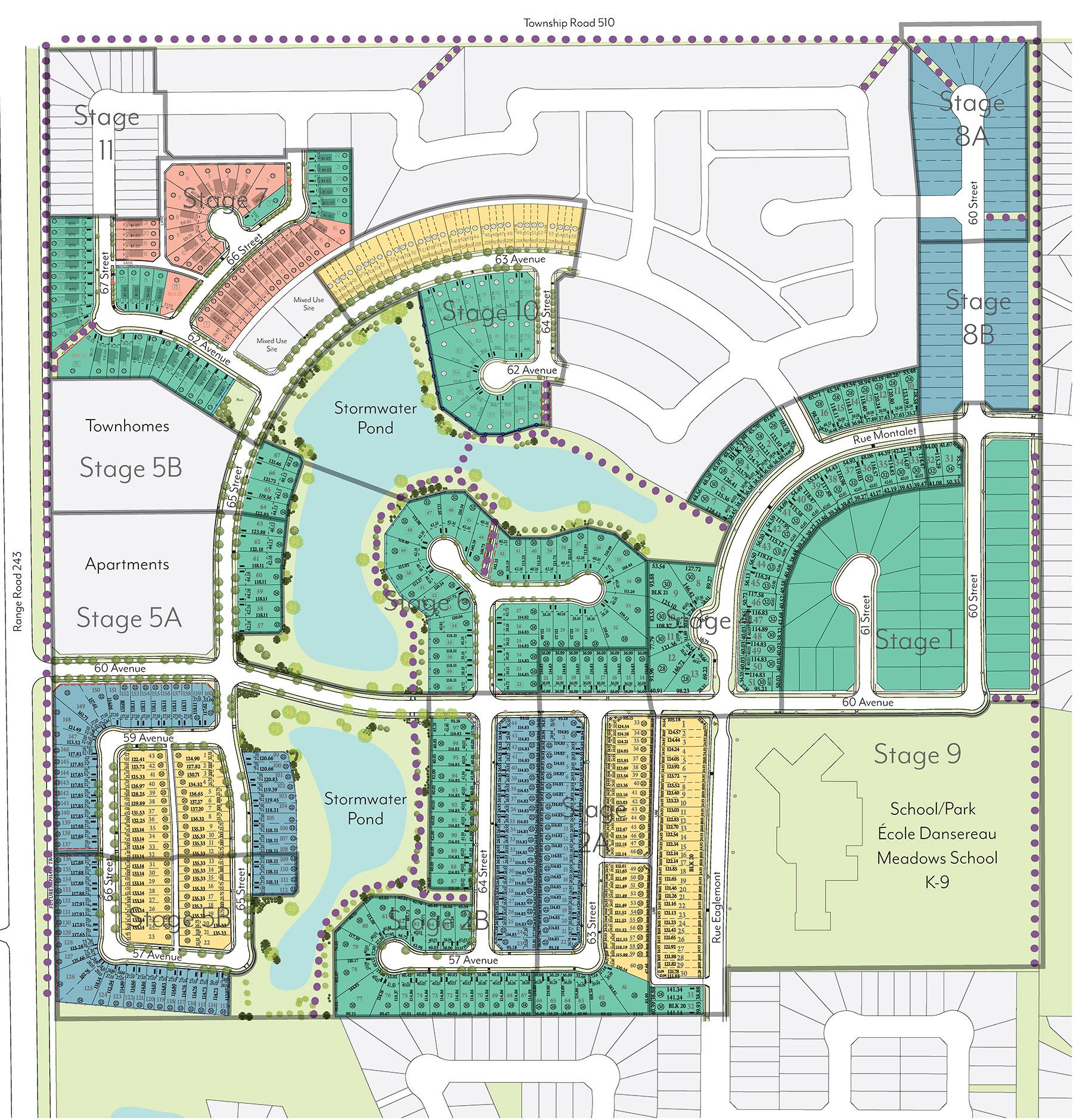 Dansereau Meadows Area Map